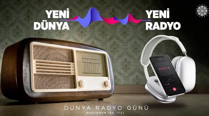 İletişim Başkanlığı'ndan 'Dünya Radyo Günü' videosu...