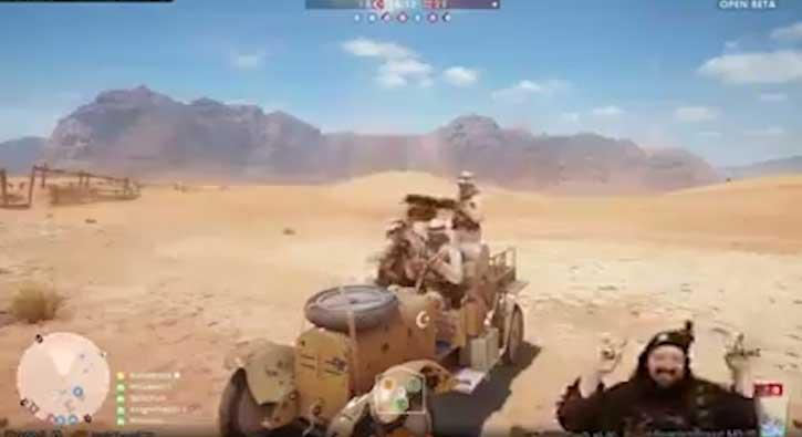 Battlefield 1 oynarken Mehter Marşı çalmak
