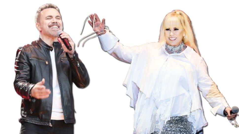 Zerrin Özer ve Ümit Sayın'dan sevenlerine muhteşem konser