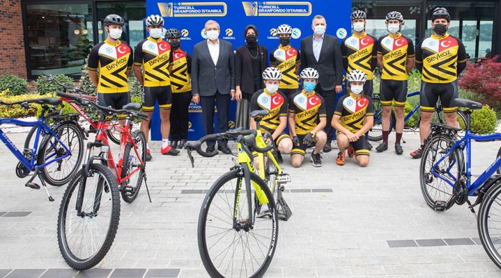 Turkcell GranFondo İstanbul'da Pedallar Eğitim İçin Dönecek